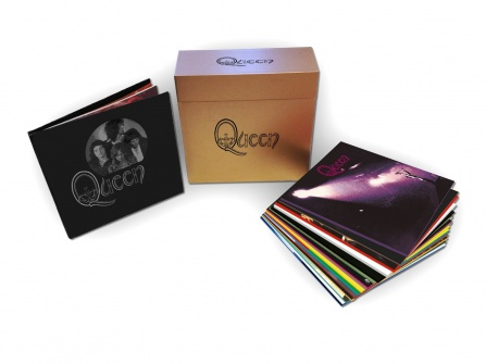 QUEEN - COMPLETE STUDIO ALBUM BOX 18 LP