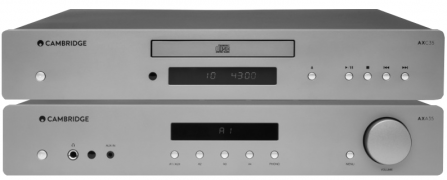 Cambridge Audio AXC35 + AXA35