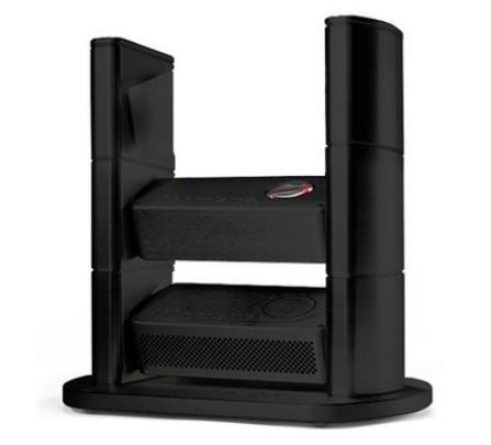 Chord Electronics Chordette Rack, 3 moduly - černá