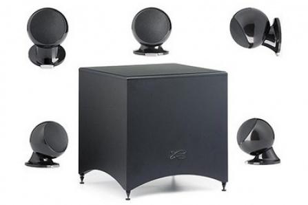 Cabasse Alcyone 2 systém 5.1 Black Piano