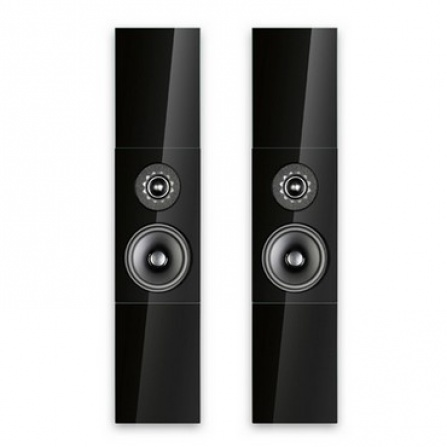 Audio Physic Classic On-Wall - Glass Black High Gloss