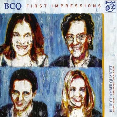 Blue Chamber Quartet - First Impressions - SACD/CD (5.1 + Stereo)