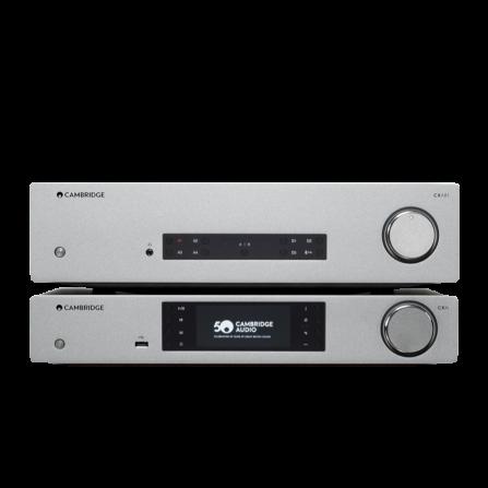Cambridge Audio CXA61+CXN v2                    Lunar Grey