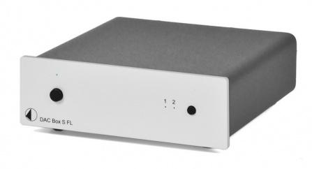 DAC převodník Project Box S FL stříbrný
