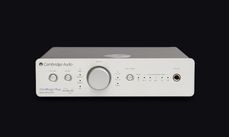 Cambridge Audio DacMagic Plus - stříbrný
