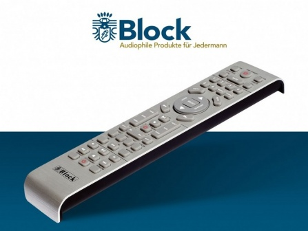 Dálkový ovladač Block stříbrný