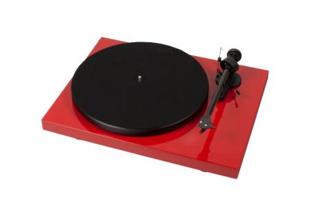 Pro-Ject Debut Carbon Phono USB DC červený + vložka OM 10
