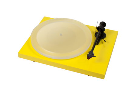 Pro-Ject Debut Carbon Esprit DC Yellow + 2MRed