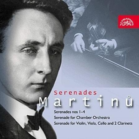 Pražský komorní orchestr, Martinů - Serenády CD