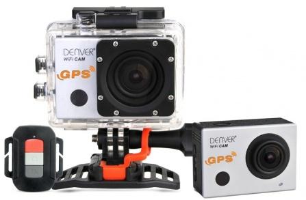 Full HD kamera s GPS a Wi-Fi Denver ACG-8050W