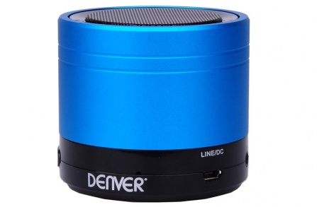 Audio systém Denver BTS-20 modrá