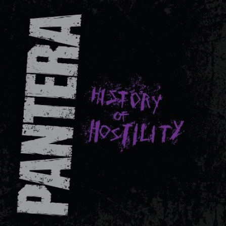 Pantera - History Of Hostility (Black Vinyl) - LP
