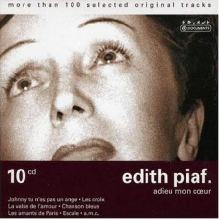 Edith Piaf - Adieu Mon Coeur (10CD)