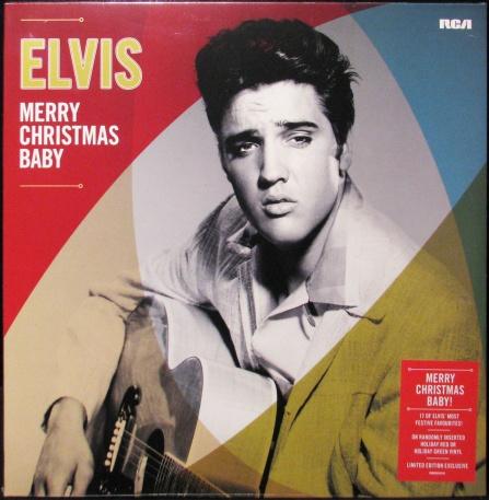 Elvis Presley - Merry Christmas Baby LP