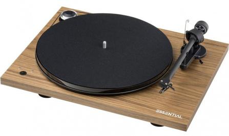 Pro-Ject Essential III RecordMaster Walnut + OM10