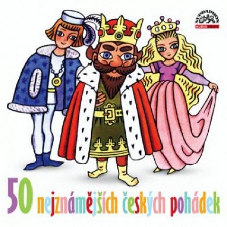 50 nejznámějších českých pohádek CD