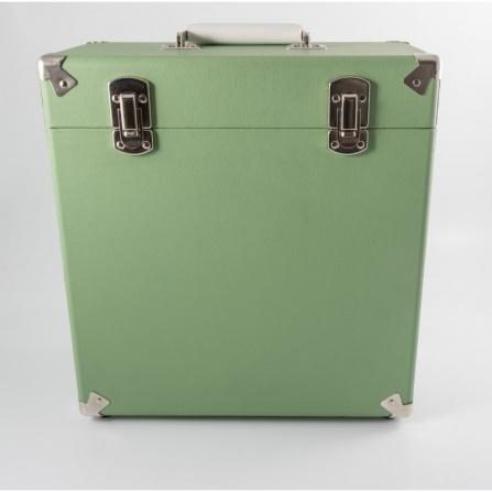 GPO Vinyl Record Case Green