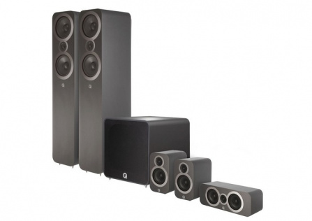 Q Acoustics 3050i Plus 5.1 Graphite Grey