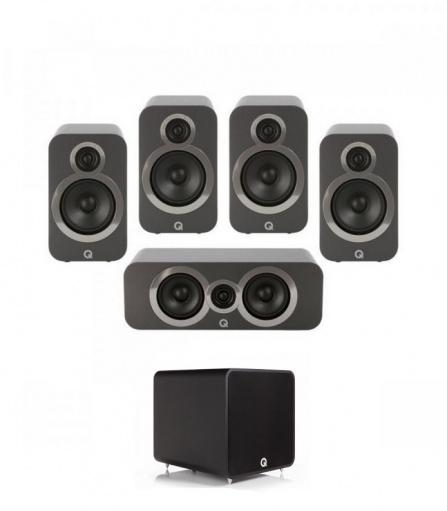 Q Acoustics 3020i PLUS 5.1 Graphite Grey