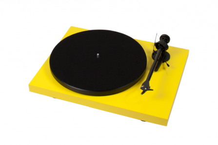 Pro-Ject Debut Carbon Phono USB DC žlutý + vložka OM 10