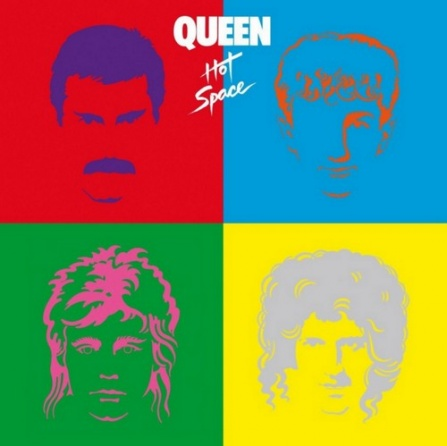Queen - Hot Space LP