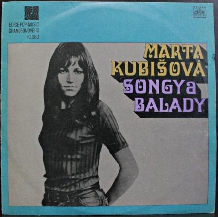 Marta Kubišová - Songy a balady LP