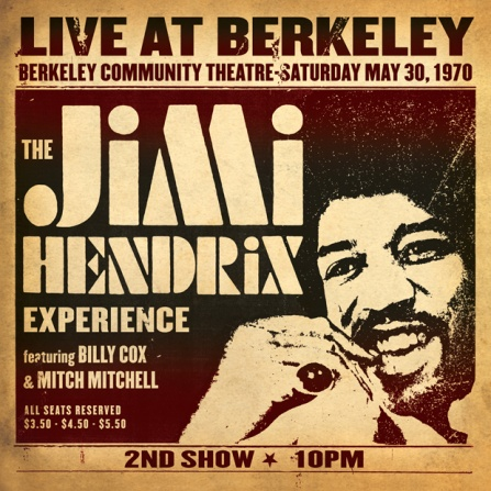 Jimi Hendrix - Live At Berkeley 2LP