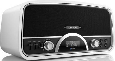 Radio Lenco SR 05-BT bílá