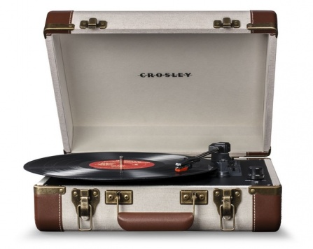 Crosley Executive Linen Brown