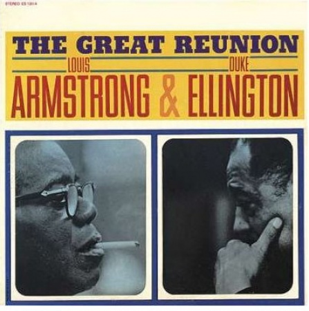 L. Armstrong/D. Ellington - The Great Reunion LP
