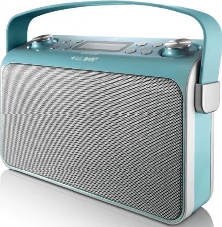 Radio Lenco Lucille modrá