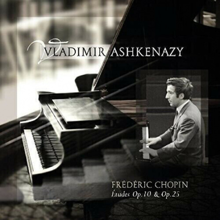 Vladimir Ashkenazy - Chopin -  Etudes Op.10 and Op.25 LP