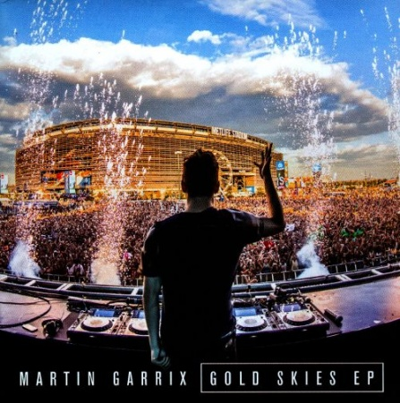 Martin Garrix - Gold Skies CD