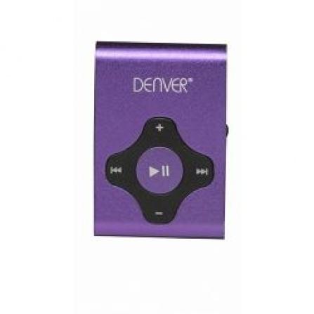 MP3 přehrávač Denver MPS-409 fialová
