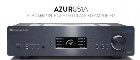Cambridge Audio Azur 851A - černá