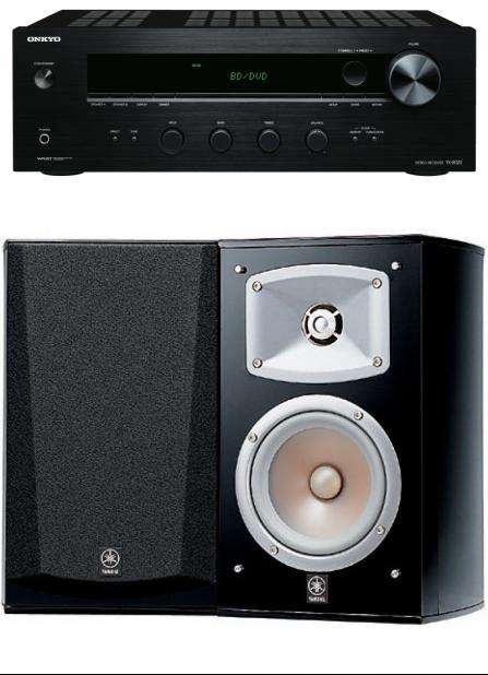 Onkyo TX-8020 + Yamaha NS-333