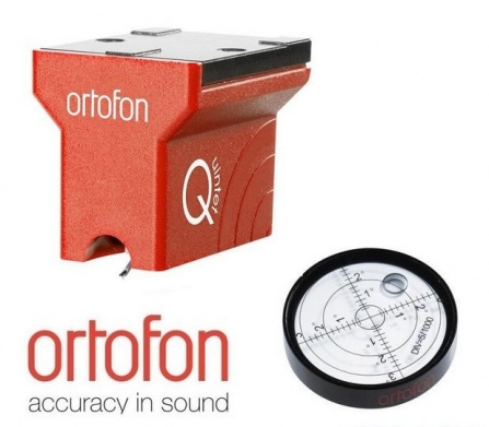 Ortofon MC Quintet Red + Ortofon Bubble Level