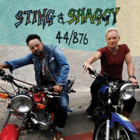 Sting and Shaggy - 44/876 CD