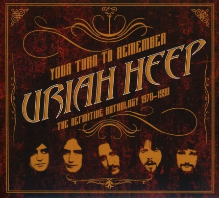 Uriah Heep - Your Turn to Remember (Definitive Anthology 1970-1990) 2LP