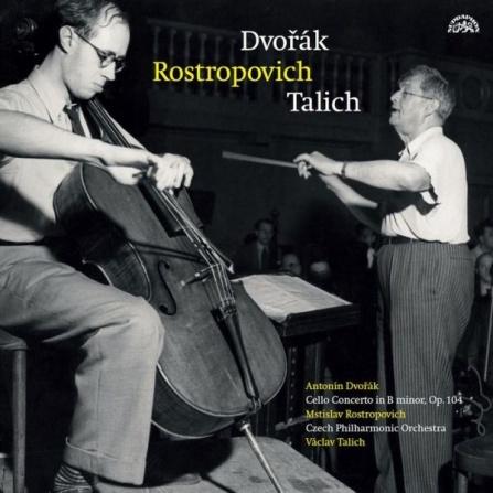 Antonín Dvořák - Koncert h moll pro violoncello a orchestr LP