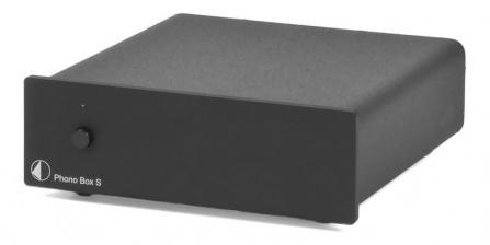 Předzesilovač Phono Box S - černý