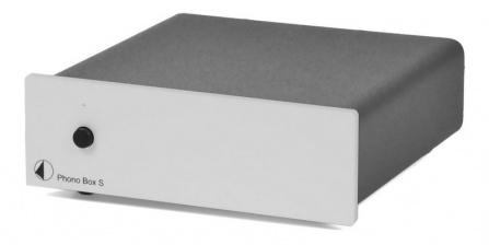 Předzesilovač Phono Box S - stříbrný