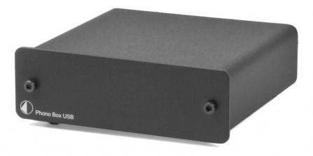 Předzesilovač Phono Box USB černý
