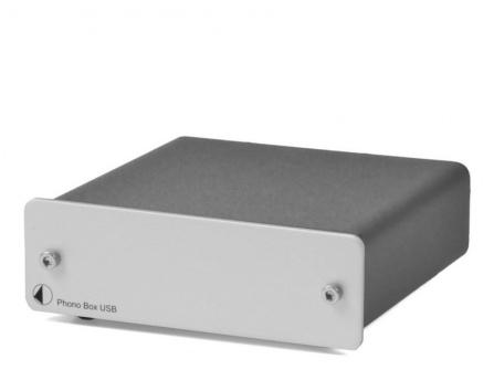 Předzesilovač Phono Box USB stříbrný