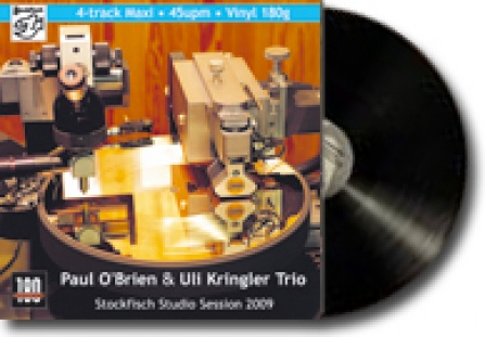 Paul O´Brien a Uli Kringler Trio - Live At Stockfisch Studio - LP