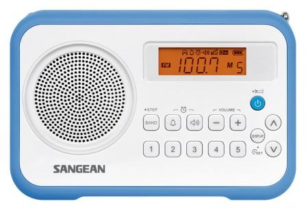 Radio Sangean Package PR-D18 bílo-modré