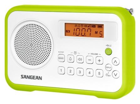 Radio Sangean Package PR-D18 bílo-zelené
