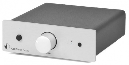 A/D Box S Phono - Silver