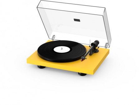 Pro-Ject Debut Carbon Evo + 2MRed - Satin Golden Yellow