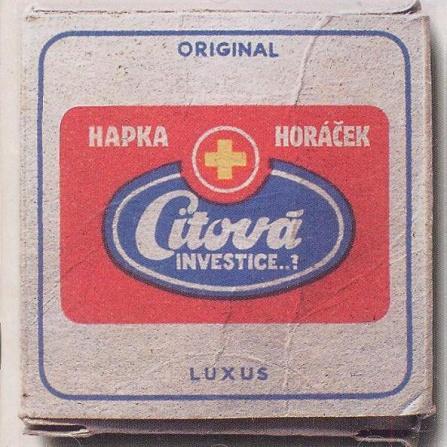 Petr Hapka a Michal Horáček - Citová investice LP